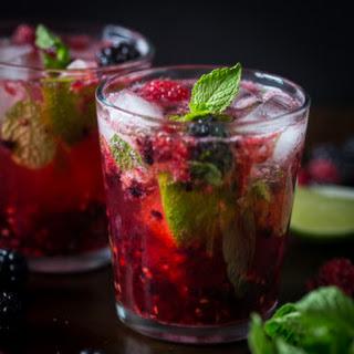 Mixed Berry Mojito.