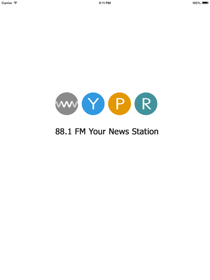 WYPR Public Radio App- screenshot