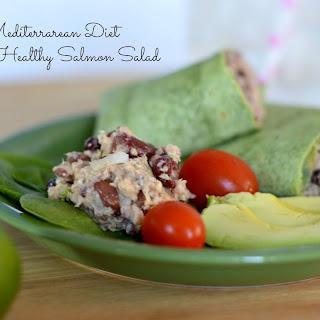 Mediterranean Diet Salmon Salad