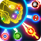 Super Heroes Knife Battle_Avengers Knife Battle icon