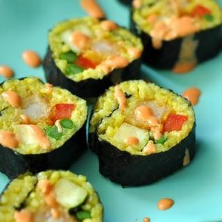 Southwest Sushi Fusion Rolls
