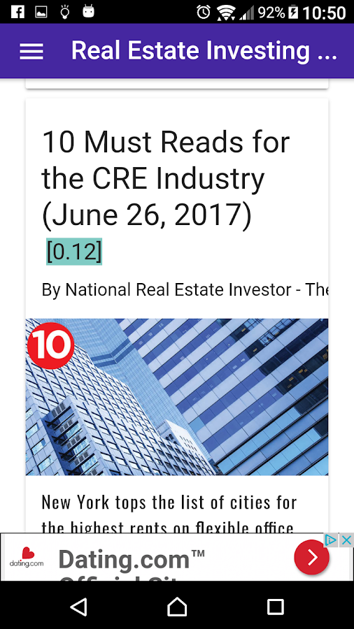 Real Estate Investing Daily News FREE- screenshot