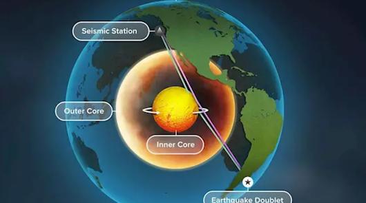 Ya hay evidencias de que el núcleo interno de la Tierra está girando