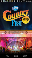 Screenshot of Country Fest 2015