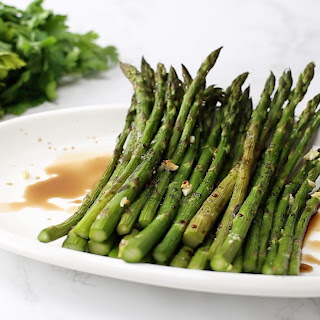 Honey-Balsamic Asparagus Recipe