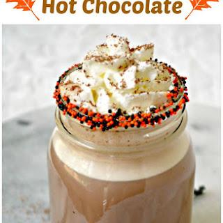 Super Easy Pumpkin Spice Hot Chocolate