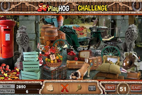 Challenge #216 Carriage Free Hidden Objects Games - náhled