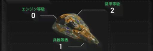 艦隊強化施設で各艦船の強化を行う