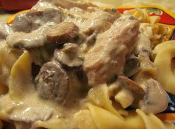 The Ultimate CHICKEN Stroganoff