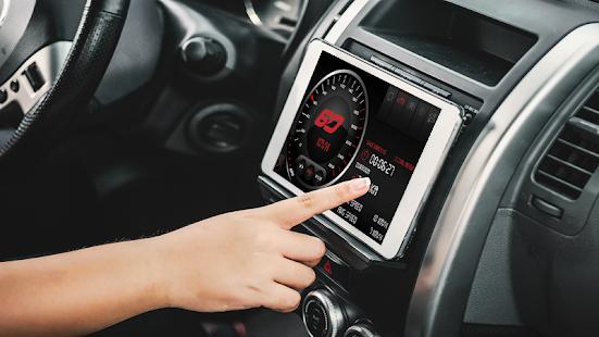 Digital GPS Speedometer-Odometer Offline  HUD View - náhled