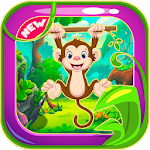 Curious Jungle George Run Icon