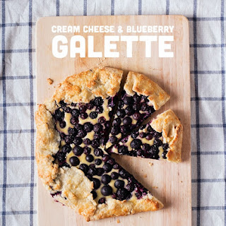 Cream Cheese & Blueberry Galette