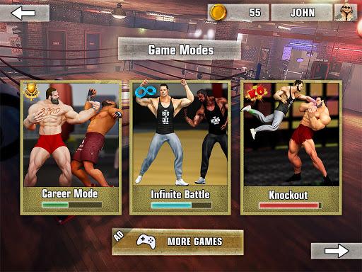 Bodybuilder Fighting Club 2019: Wrestling Games screenshots 8