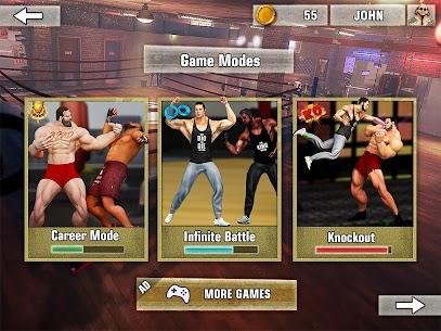 Bodybuilder Fighting Games: Gym Wrestling Club PRO 8