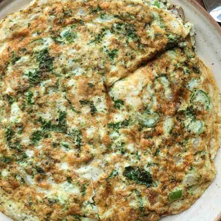 Egg White Omelette Recipe with Spinach