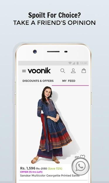 Voonik Online Shopping App screenshot 6