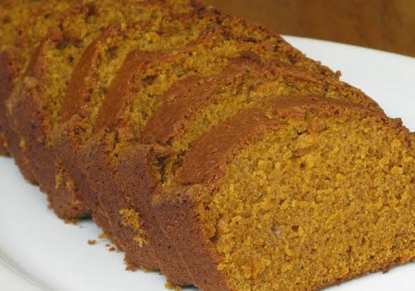 Jennifer's Pumpkin Bread Recipe