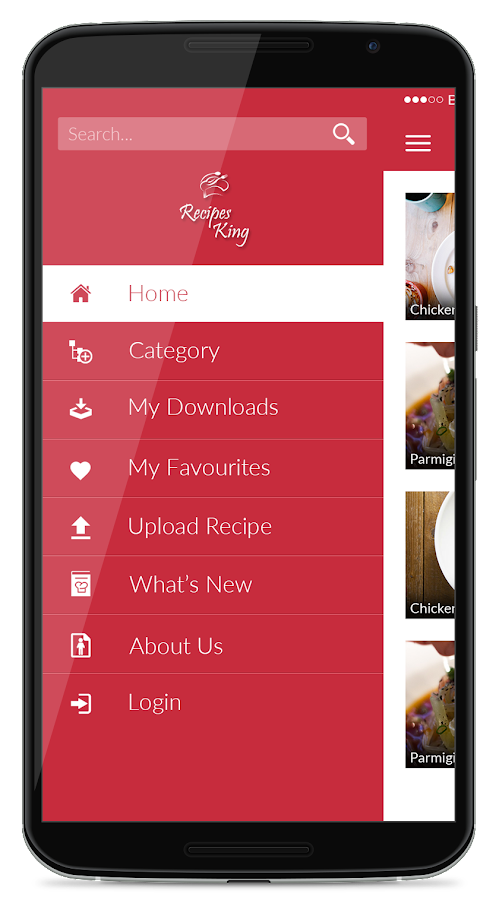 Recipes King- screenshot