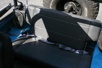 Photo: Fold and tumble rear seat