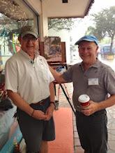 Photo: Artists Ted Matz and Ralph Papa