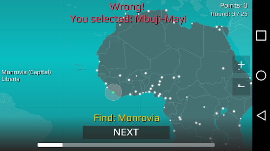 World map quiz android apps on google play world map quiz screenshot thumbnail gumiabroncs Choice Image