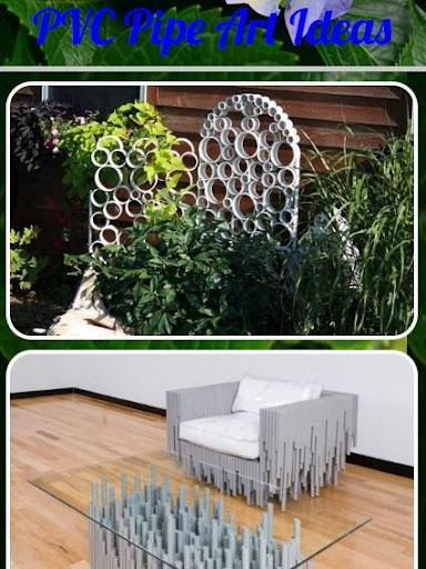 PVCパイプアートのアイデア