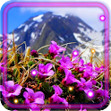 Flowers Mountains HQ LWP icon