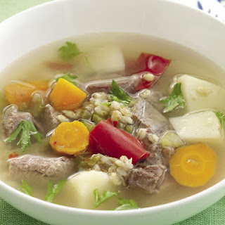 Chunky Beef and Barley Soup