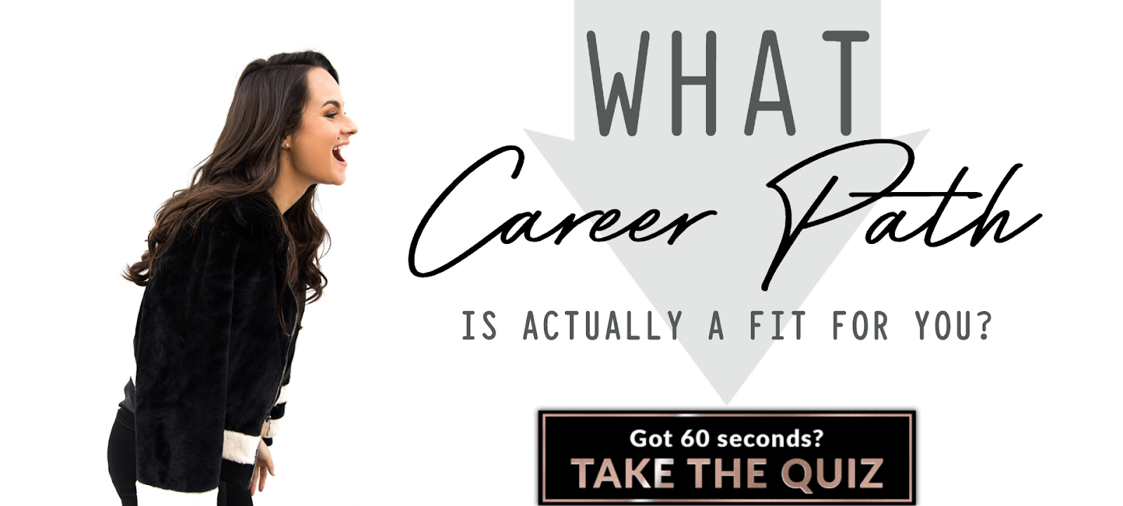 quiz cover for What career path is actually a fit for you