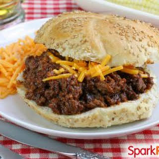 Turkey and Black Bean Sloppy Joes.