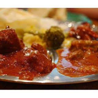 Mild Vegetable Curry.