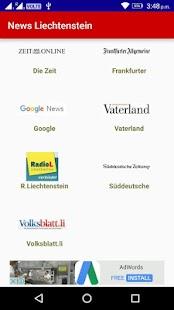News Liechtenstein ( Nachrichten Liechtenstein) - náhled