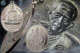 """เหรียญเสือคู่(นพเก้า) กะไหล่เงินเดิมๆ ปี22 """"บล็อกนวะ"""""""