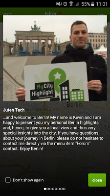 Berlin Travel Guide - screenshot