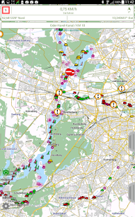 Watertrack PRO Modul ELWIS Screenshot