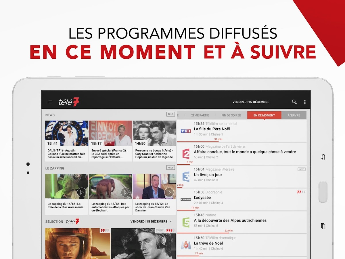 Télé 7 – Programme TV & Replay- screenshot