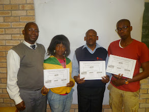 "Photo: Luatando Nsheve's ""Planning for Success"" graduates"