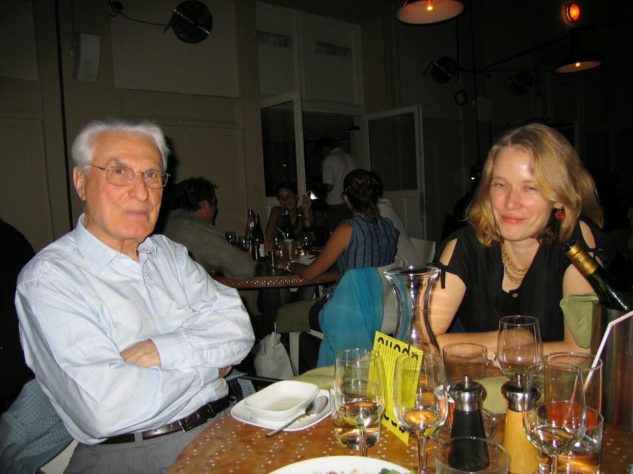 Léonidas Tsacas et Kathleen Smith
