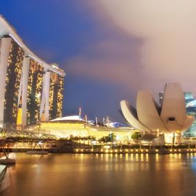 Cheesy Singapore by Aditya Perdana - City,  Street & Park  Night