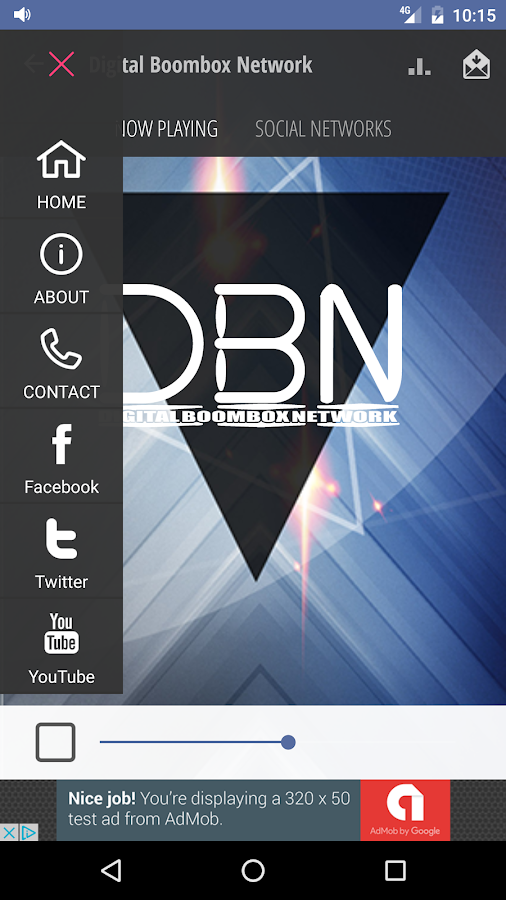digital boombox network- screenshot