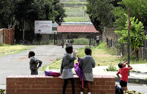 AB Xuma Primary School in Orlando East, Soweto, where 11 pupils were allegedly raped by the school's 58-year-old security guard.