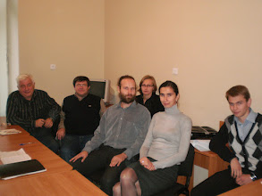 Photo: Seminar on Topological Algebra at Lviv Unibersity