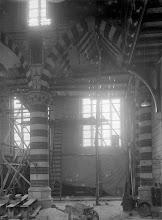 Photo: 1921 Sint Martinuskerk tijdens de restauratie