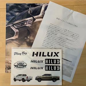 ハイラックス 4WD ピックアップ  GUN125のカスタム事例画像 Kairiさんの2020年08月29日18:22の投稿