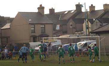 Photo: 14/04/12 v Treaddur Bay United (Gwynedd League - Cwpan Gwynedd Semi-Final) 1-2 - contributed by Mike Latham