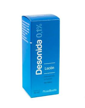 Desonida 0.1% Loción   Frasco x30Ml. MED Corticosteroide no Fluroato
