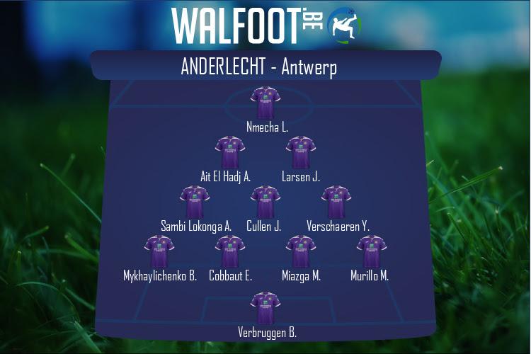 Anderlecht (Anderlecht - Antwerp)