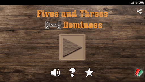 Fives and Threes Dominoes ss1