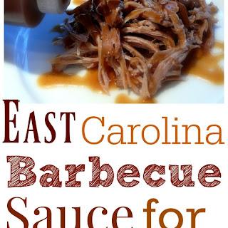 East Carolina Barbecue Sauce.