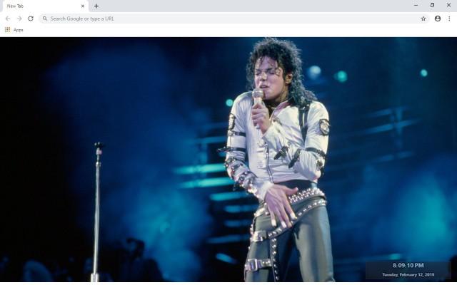 Michael Jackson New Tab